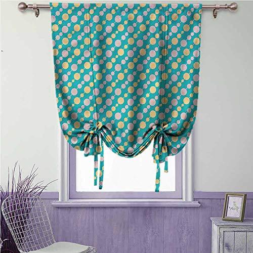Retro verduisterende gordijn gebonden gordijn staaf zak voor slaapkamer & eetkamer raam, kamer donkere driehoeken kleurrijk