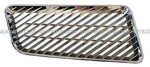 Air Intake Grille Chrome (Fit: Volvo VNL 1998-2003 VNM 1998-2015)
