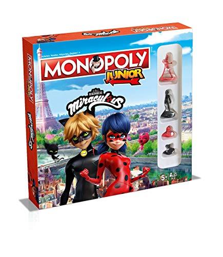 Monopoly Junior Miraculus - Juego de Mesa (versión Francesa)
