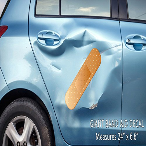 Giant Band Aid Car Decal Vinyl Decal Sticker for Car Truck Vehicle Window