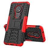 BeyondTop Case Rugged Armor for Nokia 7.2/6.2 Back Cover