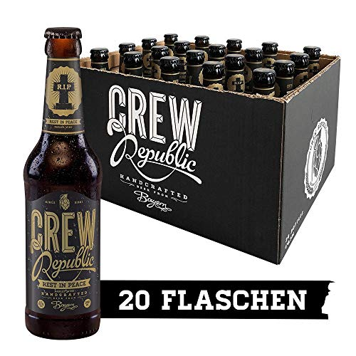 CREW Republic Craft Beer Rest In Peace, Barley Wine (20 x 0,33 l)