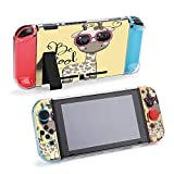 SUPNON Cool Cartoon Cute Giraffe with Sunglasses Compatible with Nintendo Switch Console & Joy-Con Protective Case, Durable Flexible Shock-Absorption Anti-Scratch Drop Design23867