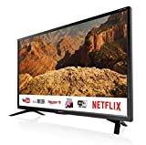Sharp Aquos LC-32BC5E - 32' Smart TV HD Ready LED TV, Wi-Fi, DVB-T2/S2, 1366 x...