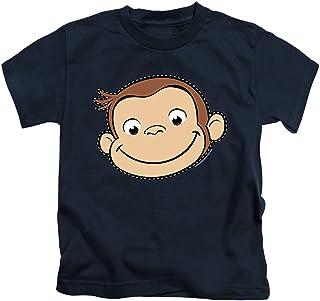 Popfunk Curious George Stitched Face Juvenile T Shirt &