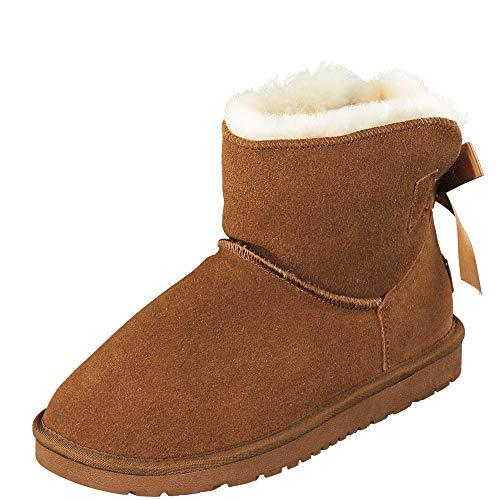 BOnova Oslo braun 40 Lammfell Boots Damen 40 Boots Lammfell Damen 40 Boots Lammfell braun 40 Stiefel Lammfell Damen 40 Winterstiefel Lammfell 40