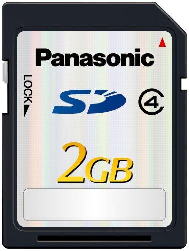 Panasonic RP-SDP02GE1K 2GB SD Speicherkarte (Class 4)