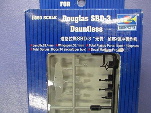 Trumpeter 6204 - Douglas SBD Dauntless 10 Piezas [Importado de Alemania]