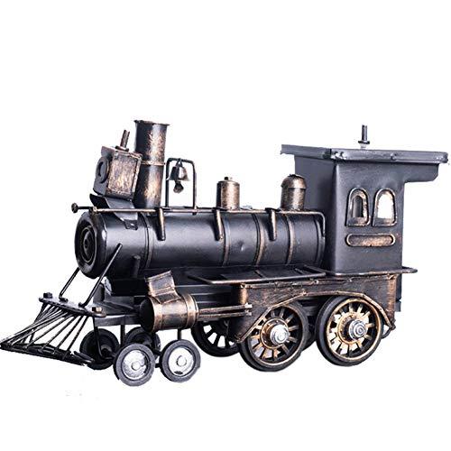 Modelo de tren de vapor, modelo de metal Colección de juguetes de met