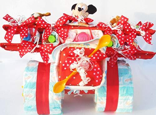 Tarta de pañales Disney