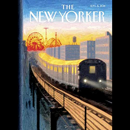 The New Yorker, September 5th 2011 (Rebecca Mead, Tad Friend, Ian Frazier) Titelbild