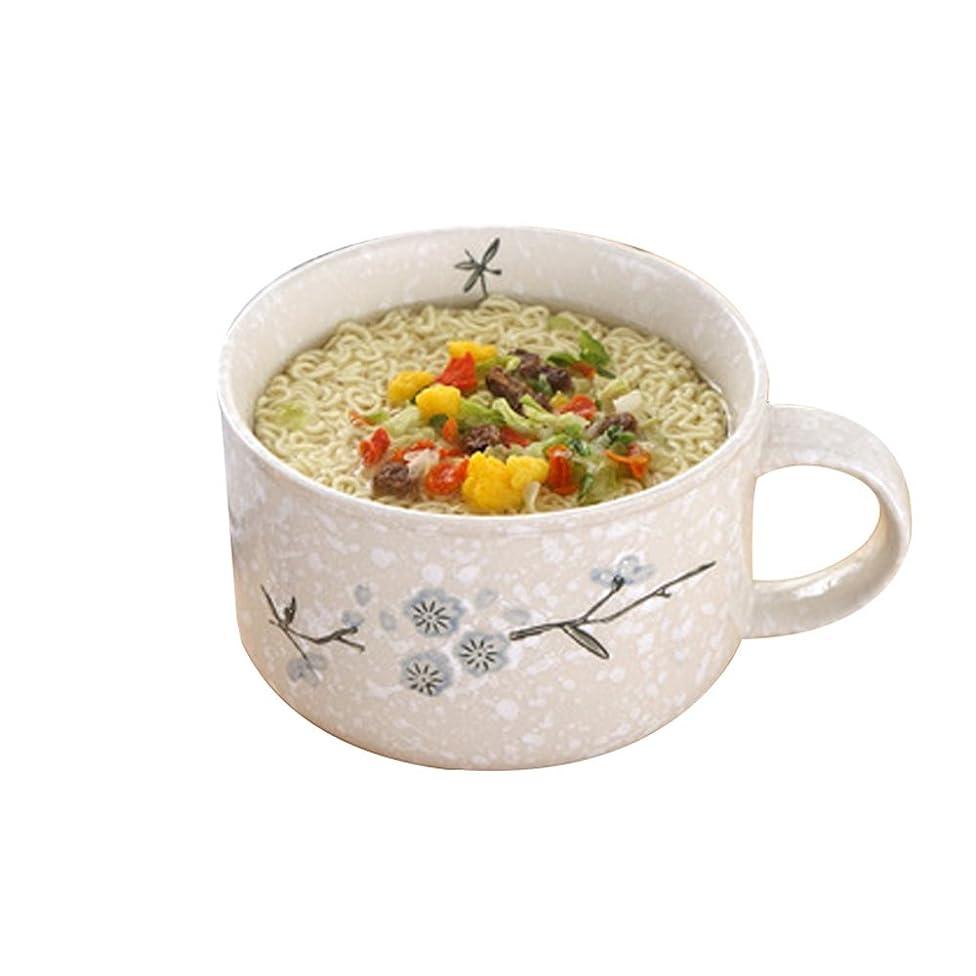 panzi Fast Food Bowl Jingdezhen Enamel Tableware Fruit Salad Bowl Pastry Bowl Instant Noodle Bowl Fast Food Cup