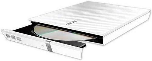ASUS Lecteur Graveur CD / DVD externe SDRW-08D2S-U LITE Blanc – Graveur DVD x8 ultra-compact, M-Disc supporté, compat...