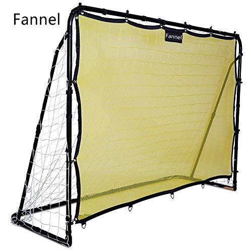 Fannel antogoo Perfect Soccer Skills Premium Portable Soccer Goal + Rebounder Soccer