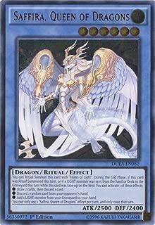 Yu-Gi-Oh! - Saffira, Queen of Dragons (DUEA-EN050) - Duelist Alliance - 1st Edition - Ultra Rare