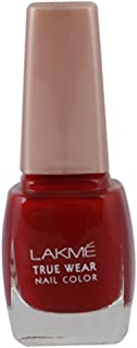Lakme True Wear Nail Color, Reds and Maroons D417, 9 ml