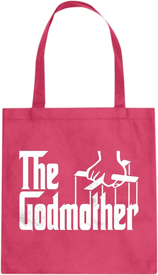 The Godmother Cotton Canvas Tote Bag