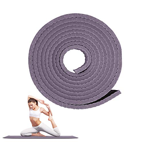 RBX 3mm Yoga Mat for Fitness and Exercise, 68 x 24 Inches