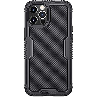 """Nillkin Case for Apple iPhone 12 / Apple iPhone 12 Pro (6.1"""" Inch) Tactics TPU Soft Case Shockproof 360 Degree Protect Black"""