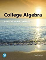 College Algebra, 4th Edition Front Cover