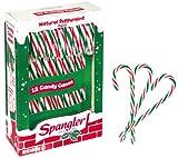 Zuckerstangen rot weiß grün   Spangler Candy Canes USA   12 Stück
