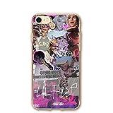iPhone 8 Case, iPhone 7 Case, Lil Love-Peep Socket Shock Absorption Technology Bumper Soft TPU