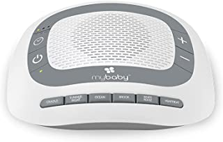 MyBaby SoundSpa White Noise Machine for Babies | 6 Soothing Lullabies for Newborns, Sound Therapy for Travel, Relaxing, Ki...