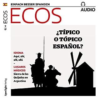 ECOS audio - Típico español. 9/2017 Titelbild