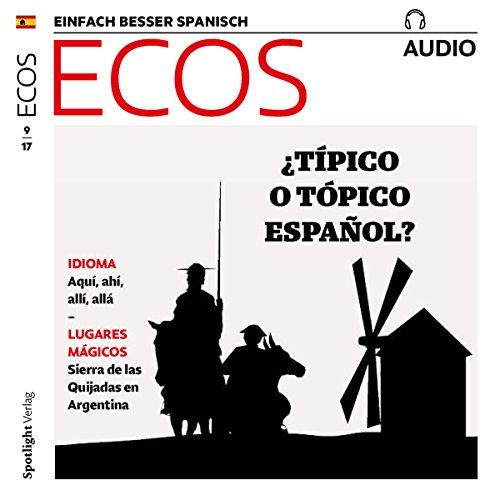 ECOS Audio - Típico español. 9/2017     Spanisch lernen Audio - Typisch spanisch              Autor:                                                                                                                                 Covadonga Jimenez                               Sprecher:                                                                                                                                 div.                      Spieldauer: 1 Std.     1 Bewertung     Gesamt 5,0