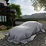 Patio Paradise 20' x 30' Heavy Duty Silver Poly Tarps Waterproof Great for Tarpaulin Canopy Tent Shelter Cover Weather Resistant Strong Reinforced