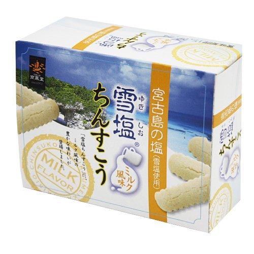 雪塩ちんすこう ミルク風味12個入り×5箱セット