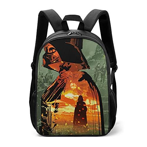 Star Darth Vader Wars - Bolsas escolares infantiles para estudiantes de primaria para aliviar la carga de la protección de la columna vertebral para niños y niñas