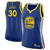 Nike Women's Medium Stephen Curry Golden State Warriors Blue Swingman Jersey - Icon Edition
