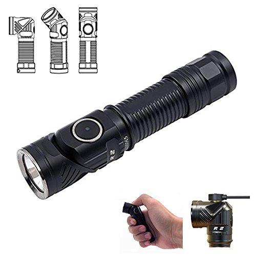 Global Rofis R2 XM-L2 U3 700LM wiederaufladbare magnetische Ladekopf Rotation EDC LED Taschenlampe Scheinwerfer
