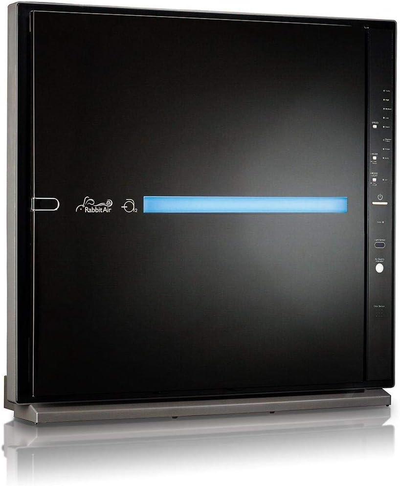 Rabbit Air MinusA2 Ultra Quiet HEPA Air Purifier w/WiFi (SPA-780N, Black, Odor Remover)