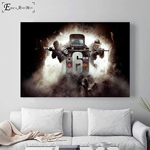 sanzangtang Anime Poster und Drucke Wanddekoration Malerei auf Leinwand Malerei Wohnzimmer Home Dekoration,Rahmenlose Malerei-40X60cm