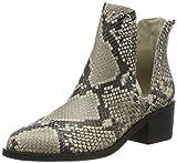 Steve Madden Conspire Ankleboot, Botines para Mujer, Multicolor (Natural Snake 236), 39 EU