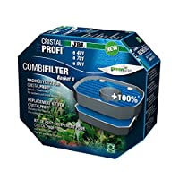 Optimised top filter basket with 100% more pre-filter surface including filter material Remove previous filter basket and insert new filter basket Optimises pre-filtering with JBL CristalProfi e 401, 701, 901, 1501 and 1901, which then are technicall...