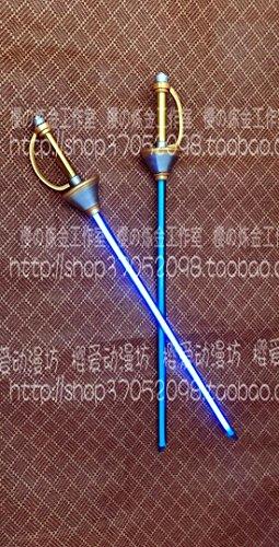 Anime Persona 5 P5 Goro Akechi Crow Sword PVC Weapon Replica Cosplay Prop 105CM