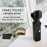 Zeshlla Case for DJI OSMO Pocket, Camera Lock Lens Guard Cover Hood Caps Gimbal Protector for DJI OSMO Pocket