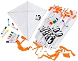 Betzold 55193 - Flug-Drachen Basteln Set Kinder-Geburtstag - Bastelset Mitgebsel
