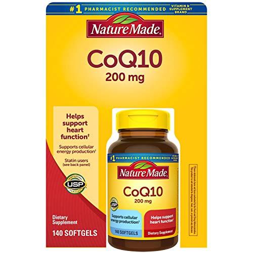 Nature Made CoQ10 200 mg 140 Softgels