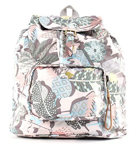 Oilily Botanic Pop Folding Classic Backpack Oyster White