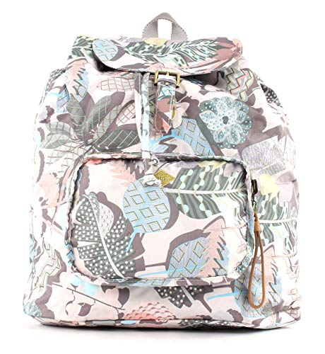 Oilily Botanic Pop Folding Classic Backpack Oyster White
