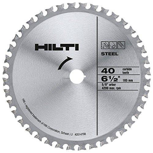 Hilti 2014798 40T SC-C MU 6 1/2-Inch x 5/8-Inch Metal Blade