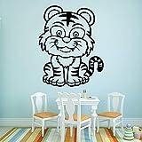 wZUN Moderne Mignon Tigre Stickers muraux décoration de la Maison étanche Stickers...