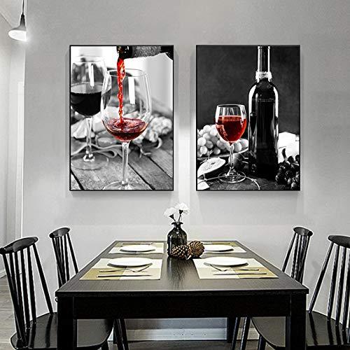 Botella De Vino Arte Bodegon