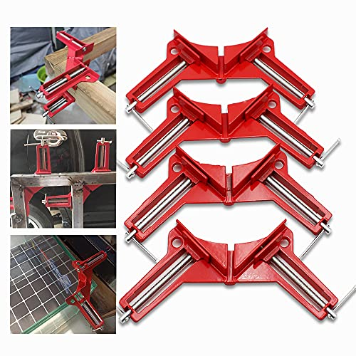 Corner Clamps 4Pcs Woodworking 90 Degree Clamps of...