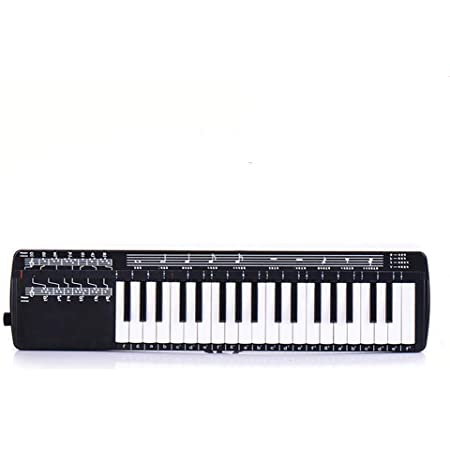 Melodica Instrument-Mouthpiece 37 Key Piano Style Melodica ...