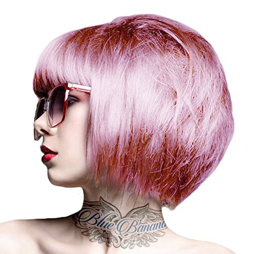 Crazy Color Semi-Permanente Haarfarbe 100ml (Candy Floss Pink)